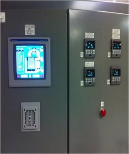 Fluidized Bed Control Panel